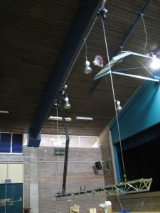 Machinery and equipment for Theatre, Stage and Studio