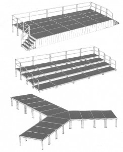 Portable Stage Configurations