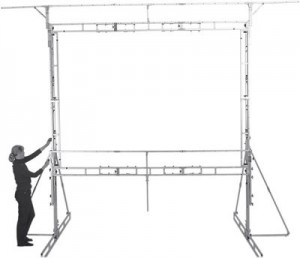 Projection Screen Truss Frame