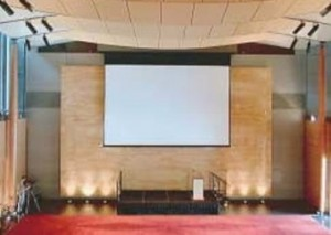 Projection Screens - Large Motorised
