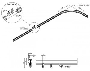 Series 18 Stage Curtains Track Dimensions Assembly