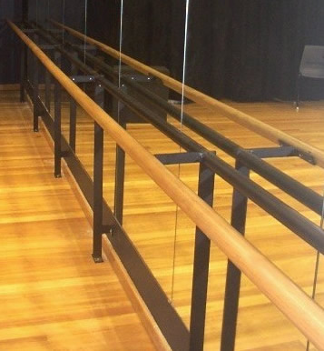 Ballet Barre And Exercise Bars Stage Theatre Dance