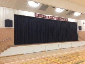 Stage curtains - design, manufacture and installation