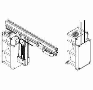 Series 18 Stage Curtains Track Draw Winch